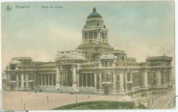 Bruxelles 1912; Palais De Justice - Voyagé. (Nels - Bruxelles) - Monuments