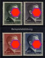 Deutsches Reich, MiNr. 799-802 B-Zähnung Postfrisch - Adolf Hitler - Ohne Zuordnung