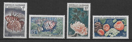 NELLE CALEDONIE - ANNEE COMPLETE 1959 - YVERT N°291/294 ** MNH - COTE = 15 EUR - CORAUX ET POISSONS - Años Completos