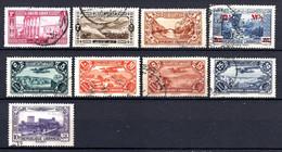 Colonies Françaises Grand Liban 1925/38  N°54,57,139,163,Poste Aérienne N°43/6,65  1,50 €   (cote 16,90 €  9 Valeurs) - Used Stamps