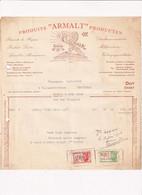 Produits Armalt Producten - Dieetlevensmiddelen Melkproducten Voedingsspecialiteiten Brussel Dendermonde - 1946 - Factuu - Food