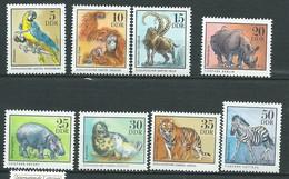 Allemagne  Ddr     - Série Yvert N°   1711   /  1718 ** , 8 Valeurs Neuves Sans Charnière  - Pal 2001 - Unused Stamps