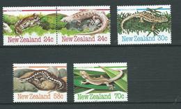 Nouvelle Zelande    - Série Yvert N°   871  / 875  ** , 5 Valeurs Neuves Sans Charnière  - Pal 2006 - Unused Stamps