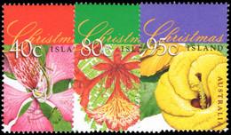 Christmas Island 1998 Flowering Trees Unmounted Mint. - Christmas Island