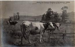 Après-midi D'Eté Par Mme A. BOUILLIER - Union Des Femmes Peintres Et Sculpteurs (1909) - Vache - - Unclassified