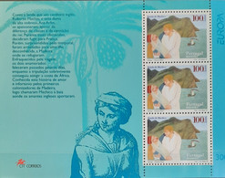 Portugal - 1997 - MNH As Scan - Tales And Legends - Madeira - Souvenir Sheet Of 3 Stamps - Unused Stamps