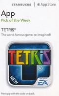 USA - Tetris, Starbucks/App Store Card, Used - Giochi