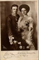 5104  - Aufnahme Zita De Bourbon , Prinzessin De Parma , Kaiser Karl I - Gelaufen 1911 - Historical Famous People