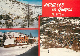 05 - Aiguilles En Queyras - Multivues - Hiver - Neige - CPM - Voir Scans Recto-Verso - Otros Municipios