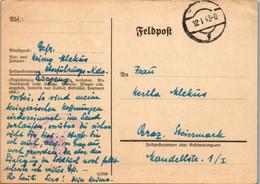 5497  - Feldpost , Bregenz Nach Graz - Gelaufen 1943 - Covers & Documents