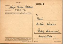 5523  - Feldpost , Graz - Gelaufen 1944 - Covers & Documents