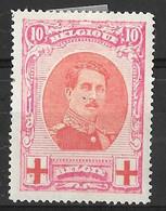 COB 133 * - 1914-1915 Rode Kruis