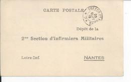 NANTES   2me Section D'infirmiers Militaires - Nantes