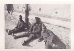 PHOTO ORIGINALE 39 / 45 WW2 WEHRMACHT FRANCE CHALONS SUR MARNES PRISONNIERS FRANÇAIS AU STALAG 194 - War, Military