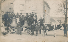 67) Réquisition Des Cloches En Alsace (11.4.1917) Cachet Poste Kutznhausen Ou Mutzenhausen ? A Localiser (voir Verso) BP - Selestat