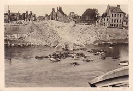 PHOTO ORIGINALE 39 / 45 WW2 WEHRMACHT FRANCE PONT SAINTE MAXENCE PONT DÉTRUIT SUR L OISE - Krieg, Militär