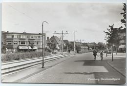 Voorburg Blauwe Tram Tramway Rembrandtplein  Strassenbahn Trolley Leiden NZH 1950's - Voorburg