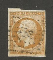 SOLDES - 1853 - N°13A - Bistre - Losange Petits Chiffres  Cotation Yvert 2016 : 12,00 € - 1853-1860 Napoleon III