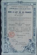 Bon A Lot 1889 Expo Universelle Deco - Tickets - Entradas