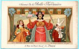 Carte Postale CPA, Publicité Belle Jardinière. Les Rondes Enfantines. La Bonne Aventure Oh! Gai! - Advertising
