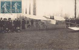 TARBES  ? - Carte Photo D Un  Meeting  D' AVIATION ... 1912 Dans Les Pyrenées - Tarbes