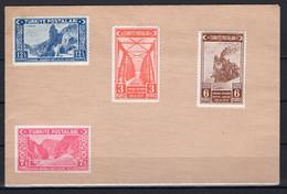 1939 TURKEY THE OPENING OF THE ANKARA - ERZURUM RAILROAD SET ON ENVELOPE - Briefe U. Dokumente