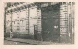 Photo (11,5 X 7,5 Cm) : LILLE - Imprimerie Lefevre-Ducocq - 88 Rue De Tournai (BP) - Lugares