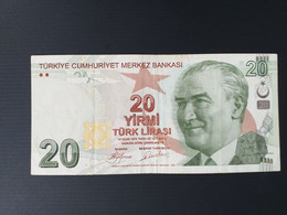 TURQUIE 20 LIRA 2009 - Turkije