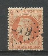 SOLDES - 1868 – N° 31 - 40 C. - Orange - Oblitéré - 1863-1870 Napoleon III With Laurels