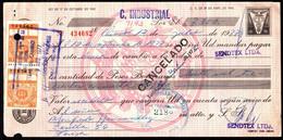 Bolivia 1977 Letra De Cambio $b50.-. EDVIL Edit. Offset. 2x$b4.-  Tipo H&A 128 Grande Lito Unidas S.A. La Paz - Bolivia
