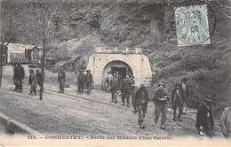 03 -  COMMENTRY - Sortie Des Mineurs D'une Galerie. - Commentry