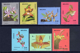 Bolivia 1974 Orchids Unmounted Mint. - Bolivia