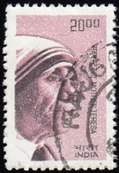 INDIA - Scott #2286 Mother Teresa, Nobel Peace (*) / Used Stamp - Used Stamps