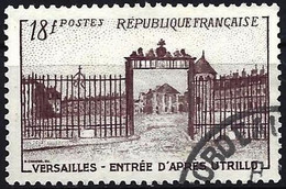 France 1952 - Mi 957  - YT 939 ( Castle Of Versailles By Maurice Utrillo ) - Usati