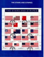 J413 'epreuve De Luxe' 2000 FDC Du Feuillet Sur Le Stars & Stripes - Unclassified