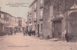 """SAINT LAURENT LA SALANQUE """" Rue Du Prado Animée RARE """"    N°8434 - Other Municipalities"""