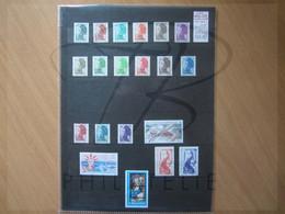VEND BEAUX TIMBRES DE S.P.M. , ANNEE 1986 + TAXES + CARNET , XX !!! - Années Complètes