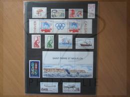 VEND BEAUX TIMBRES DE S.P.M. , ANNEE 1988 + PA , XX !!! (a) - Années Complètes