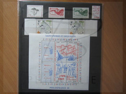 VEND BEAUX TIMBRES DE S.P.M. , ANNEE 1989 + PA , XX !!! (a) - Années Complètes