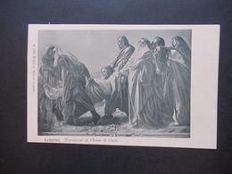 Schweiz 1907 AK Locarno Deposizione Di Christo Di Ciseri Verlag Milliet U. Werner Lugano. Christliches Motiv Jesus - Covers & Documents