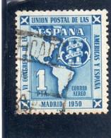 Espagne: Année 1951 :  PA N°248 Oblitéré - Oblitérés