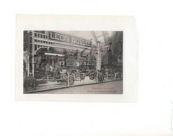 Salon Automobile 1907 Stand Léon BOLLEE Exposition Décennale Paris Voiture Voiturette Véhicule Engin à Moteur - Passenger Cars
