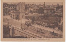 1921 PADOVA PONTE   R. SCUOLA PER INGEGNERI TRAM - Padova