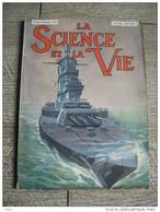 Science Et Vie  1935  No216  Marine Cuirassé Paquebot Normandie Sahara Publicité - Sciences
