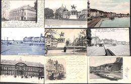 Liège - Lot 45 Cartes (un Peu De Tout, Colorisée Animée... ) (petit Prix) - Liège