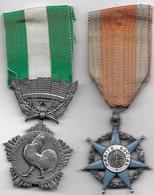 Lot De 2 Médailles - Sin Clasificación