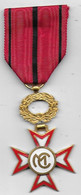 Médaille émaillée à Identifier - Non Classés