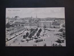 1908 AK Graz Jakominiplatz 2 Vignetten Bund Der Deutschen Nordmaehrens U. Kreisturnfest Graz Juli 1908 Mit Steno - Cartas