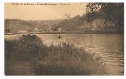 CPA Publicitaire : Vallée De La Meuse NAMUR - LIVES Brumagne, Panorama, Vue Vers BEEZ - Namur