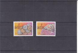 Chine - Taiwan - Yvert 2466 / 7 ** - Monnaies - Billets De Banque - Valeur 2,50 Euros - Unused Stamps